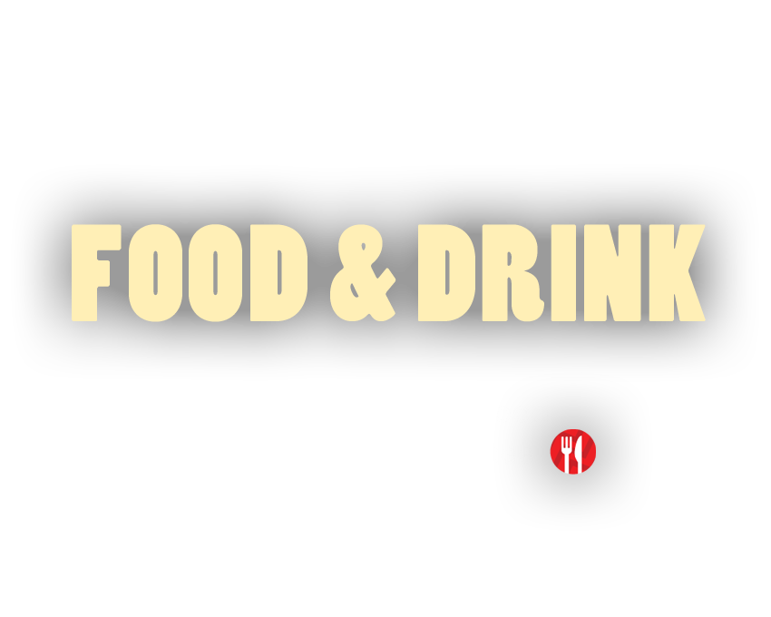 ENJOY THE FULL KOMEDIA EXPERIENCE : FOOD & DRINK Freshly prepared food at shows where you see the knife and fork logo FIND OUT MORE